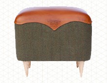 Brogue Footstool